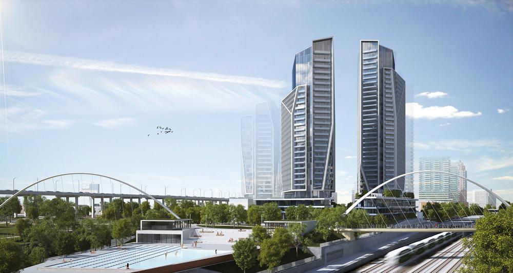 Garrison Point Condos Toronto Expansive Green Spaces